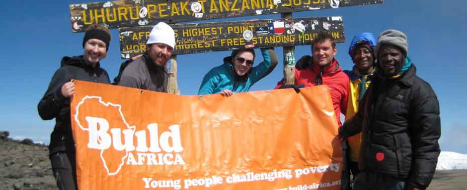 Take part in an event for Build Africa